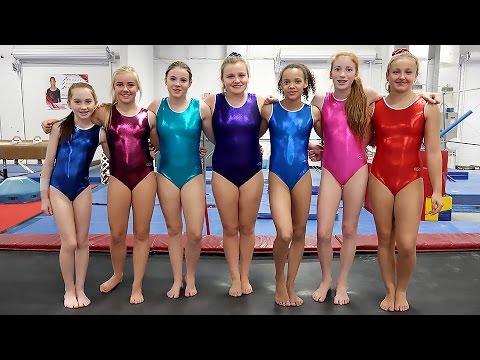 Seven Gymnastics Girls Jennifer Pinches Zone Blog