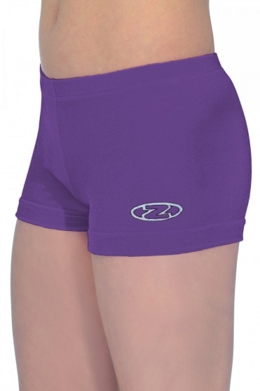 Smooth Velour Hipster Gymnastics Shorts