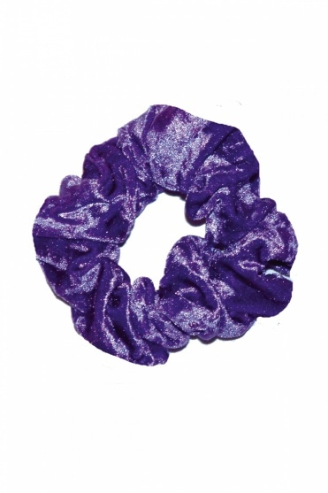 Crushed Velour Hair Scrunchie