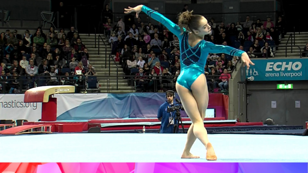 Catherine Lyons: Last year's Junior British Champion will be in the Senior competition this year