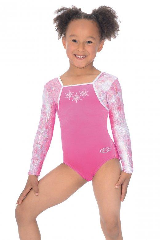 Angel Long Sleeved Gymnastics Leotard