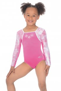 Angel Long Sleeved Gymnastics Leotard