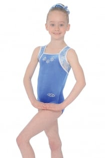 Angel Sleeveless Gymnastics Leotard