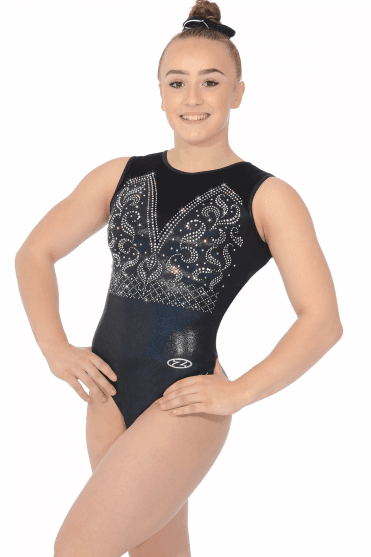 654a938c4 Sleeveless Gymnastics Leotards - Free UK Delivery - The Zone
