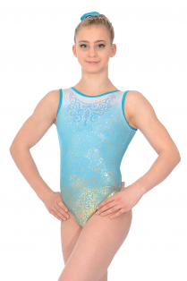 Aura Sleeveless Gymnastics Leotard