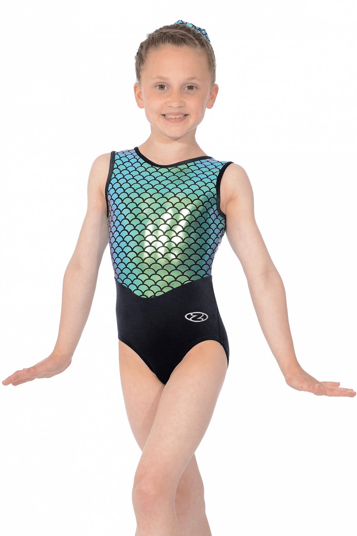 274baf955f39 Azalea Mermaid Sleeveless Girls  Gymnastics Leotard