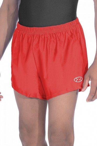 Boys'/Men's Gymnastics Shiny Nylon Lycra Shorts
