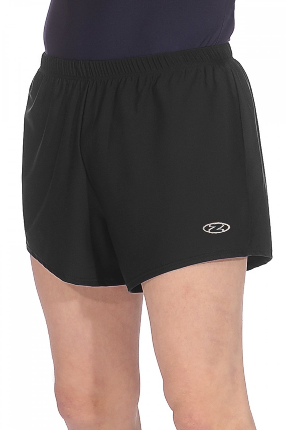 Z121 BLACK Boys Gymnastic Shorts New Boys-Mens Zone Gymnastic Shorts