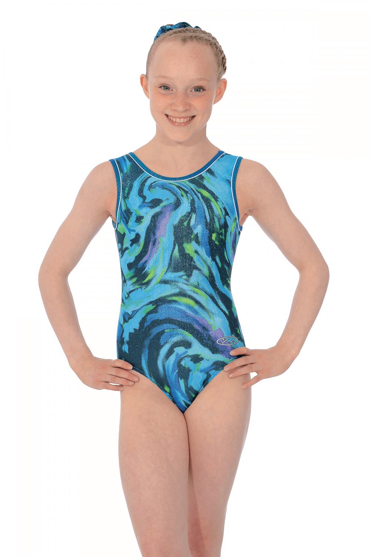a5c1bc78b6456c Breeze Shiny Girls' Sleeveless Gymnastics Leotard |The Zone (Z943BRE)