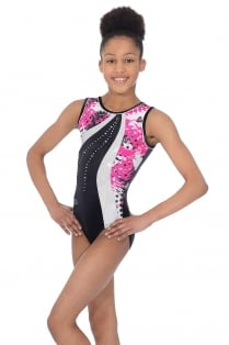 Carnival Sleeveless Gymnastics Leotard