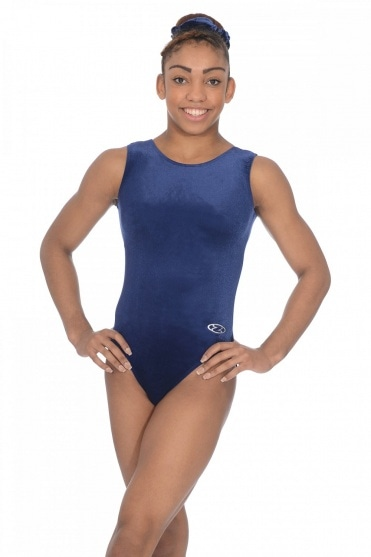 Classic Sleeveless Smooth Velour Leotard