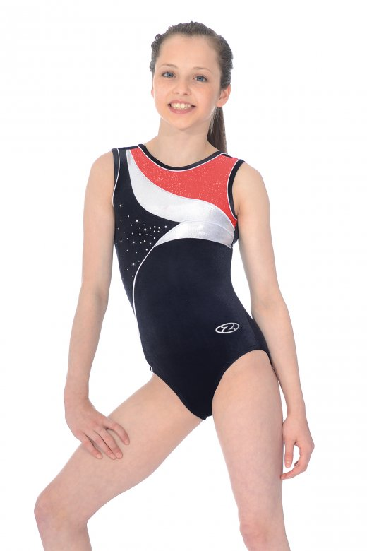 Cosmic Sleeveless Gymnastics Leotard