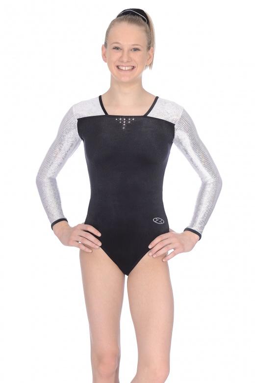 Deluxe Long Sleeved Gymnastics Leotard