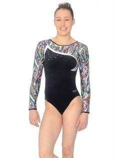 Velour/Lycra Print Leotards