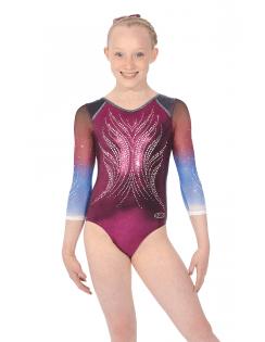 55bc6f15da0 Girls Gymnastics Leotards - Free UK Delivery