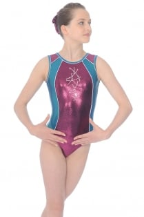 Diamond Sleeveless Gymnastics Leotard