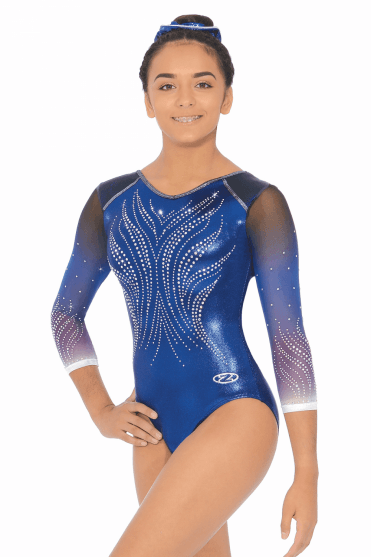 d76a10361 Long Sleeve Gymnastics Leotards - Free UK Delivery - The Zone