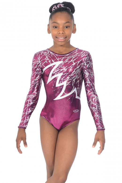 Electra Long Sleeved Gymnastic Leotard