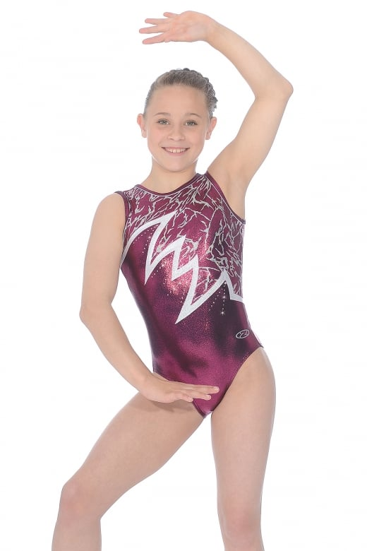 Electra Sleeveless Gymnastics Leotard