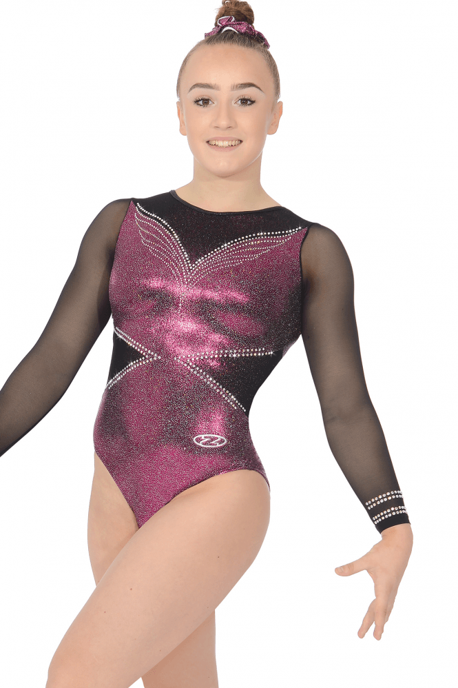 Ellee Long Sleeve Gymnastics Leotard