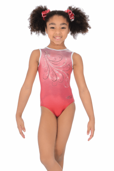 Enchanted Sleeveless Gymnastics Leotard