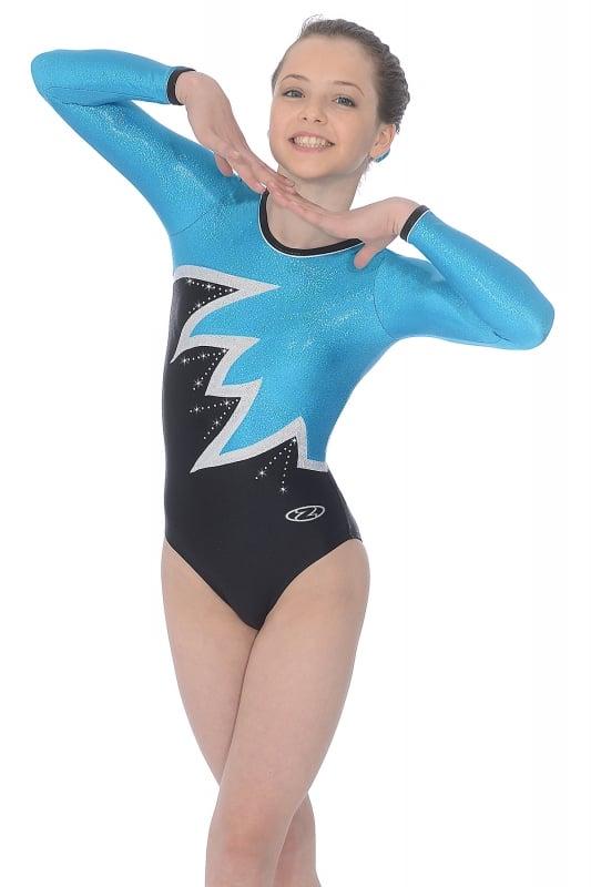 98224b9b72c6 Fantasia Long Sleeved Gymnastics Leotard