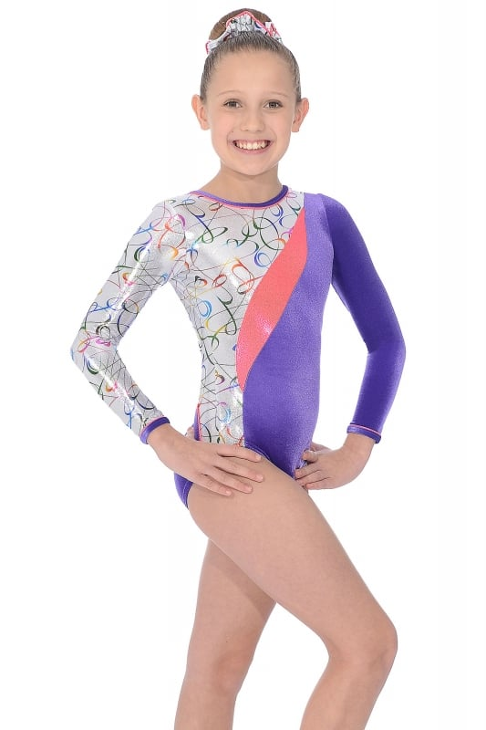 b48d467cc Fizz Long Sleeve Gymnastics Leotard