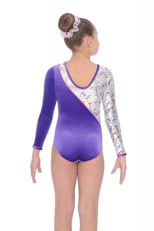 be85e6d8778b Fizz Long Sleeve Gymnastics Leotard