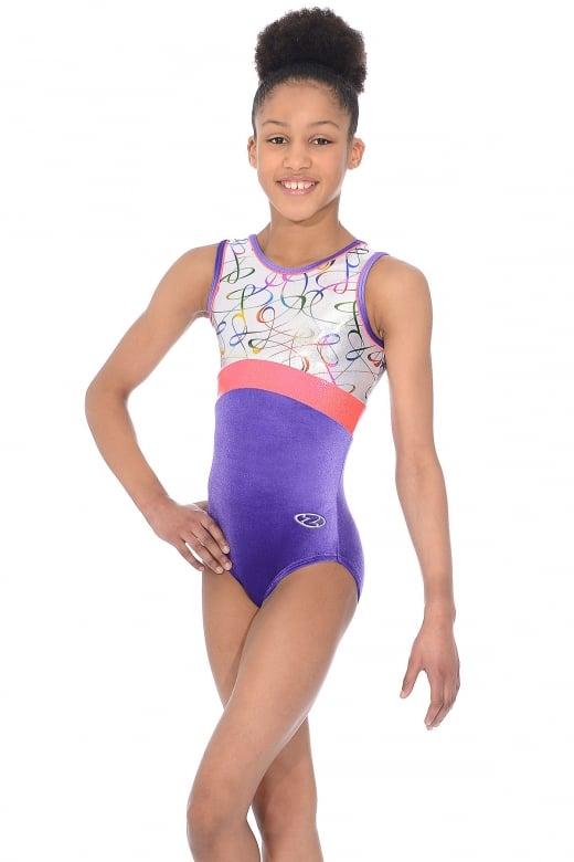 Fizz Sleeveless Gymnastics Leotard