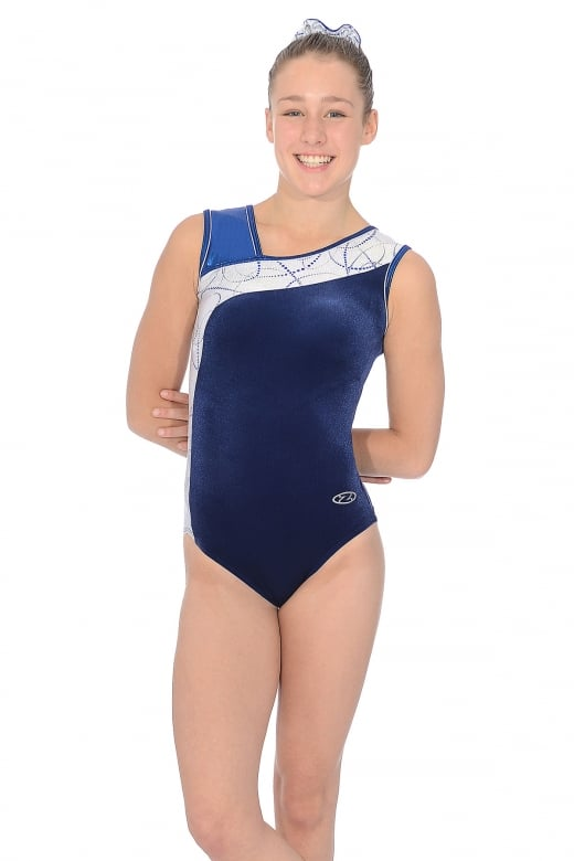 Galaxy Sleeveless Gymnastic Leotard