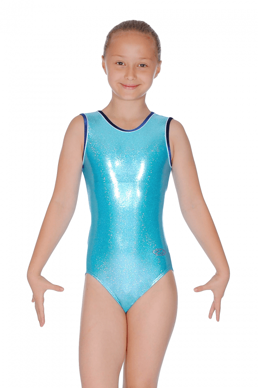Glitz Sleeveless Shine Leotard
