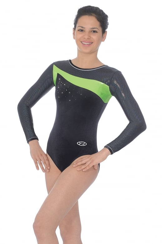 Icon Long Sleeved Gymnastics Leotard