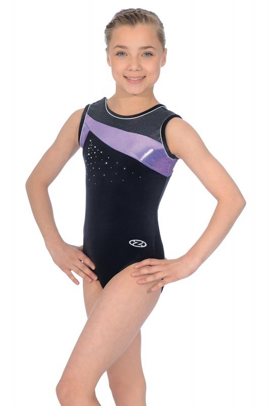 ZODIAC Kingfisher Sleeveless Leotard Z407 Girl/'s Gymnastic Zone Leotard