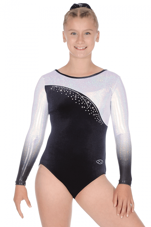 Idol Ombré Long Sleeve Leotard