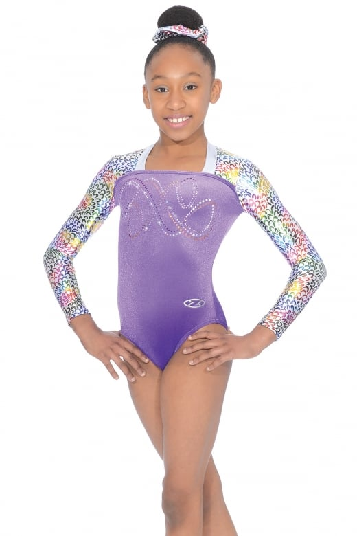 Jelly Bean Long Sleeved Gymnastics Leotard