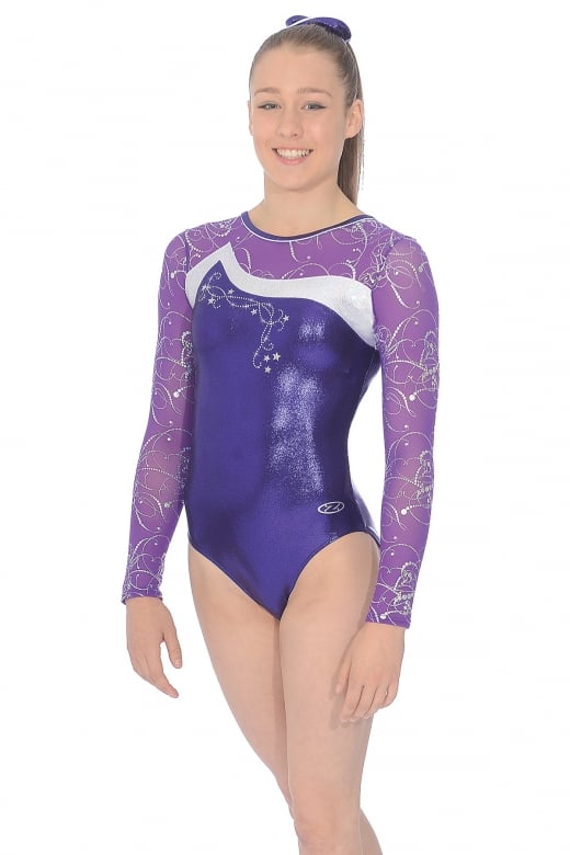 Luna Long Sleeve Gymnastics Leotard