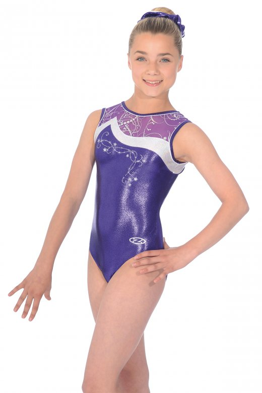 Luna Sleeveless Gymnastics Leotard | The Zone