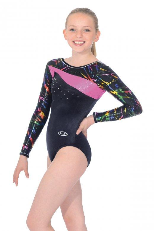 Macy Long Sleeved Gymnastics Leotard