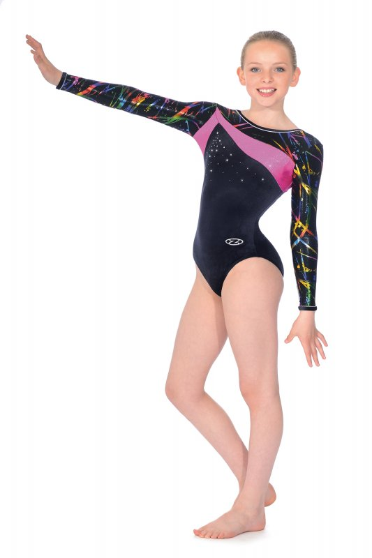 16a15569a27d Macy Long Sleeved Gymnastics Leotard