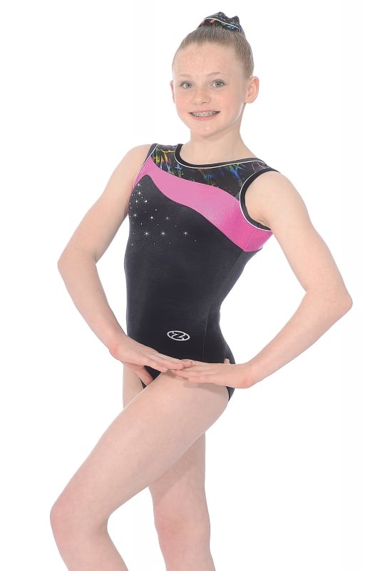 331487441dec Macy Sleeveless Gymnastics Leotard
