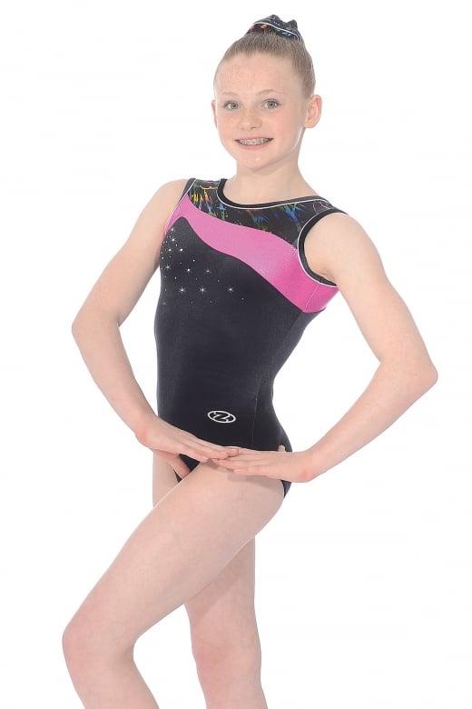 Macy Sleeveless Gymnastics Leotard