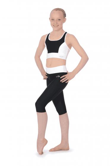 8625465f4ffe6 Matt Lycra Capri Gymnastics Leggings
