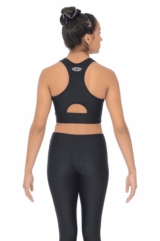 Active Wear Gymnastics Crop Top  e7db8fbb099