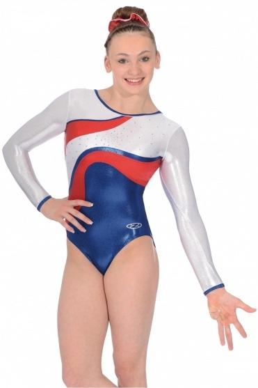 Merit Long Sleeved Gymnastics Leotard