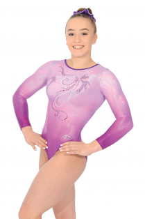 Mirage Long Sleeve Gymnastics Leotard