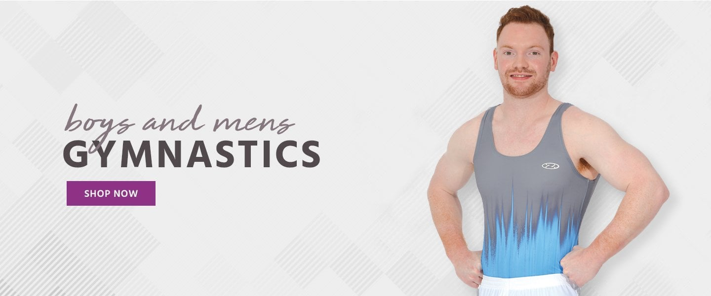 boys and mens gymnastics new