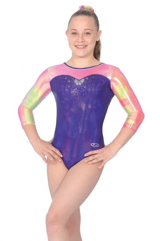 Opal 3/4 Sleeve Leotard