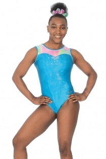 Opal Sleeveless Leotard