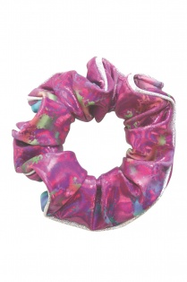 Orchid Hair Scrunchie