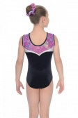 Orchid Sleeveless Gymnastics Leotard